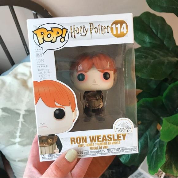 Ron Weasley #114 Slug Funko Pop